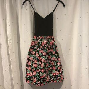 Pink Victoria's Secret floral summer mini dress